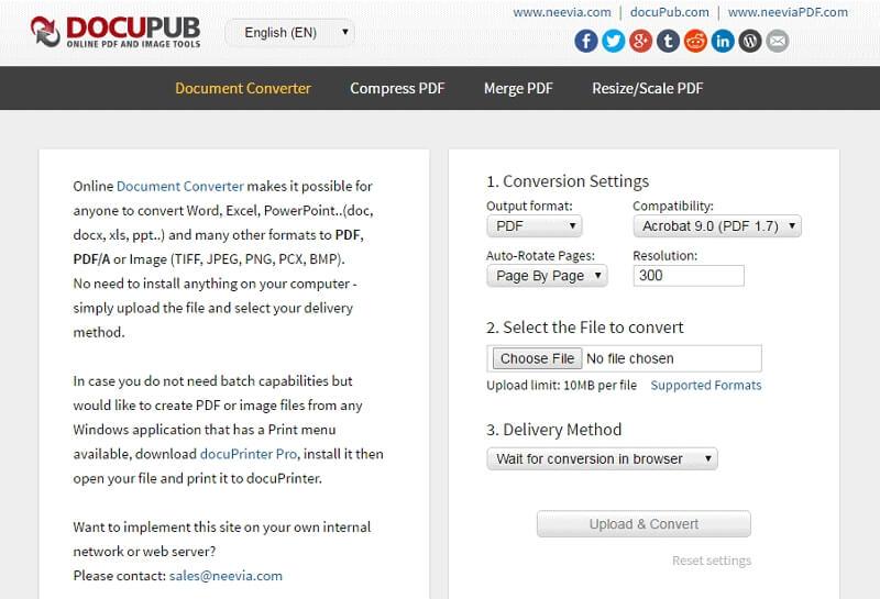 pdf-dateigröße in mb online vergrößern