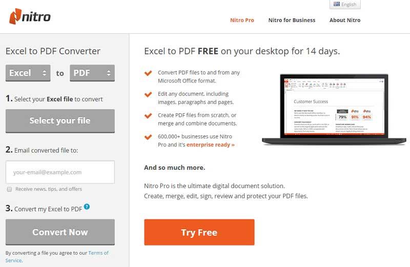 konvertieren Sie xls zu pdf online