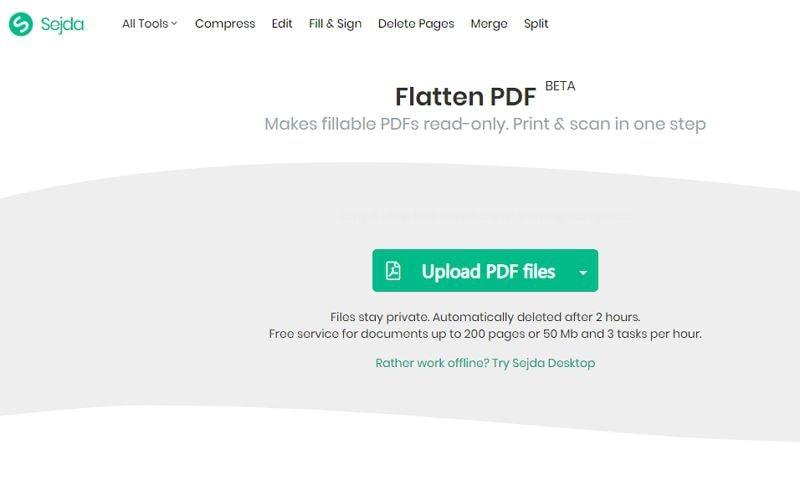 pdf online verflachen