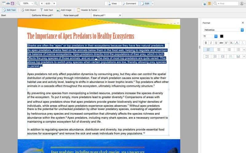 Kostenloser PDF Annotator Mac