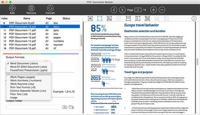 convertitore di pdf in pages