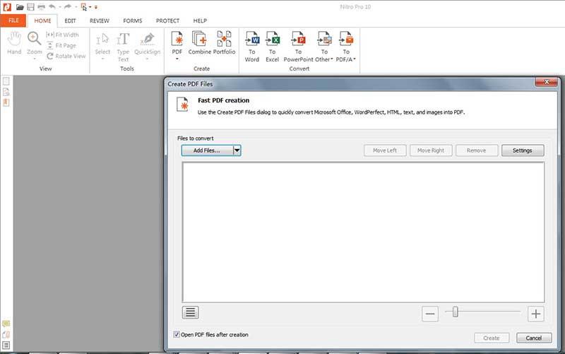 convert jpg to pdf nitro pro
