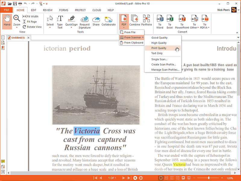 convertitore di pdf in xml