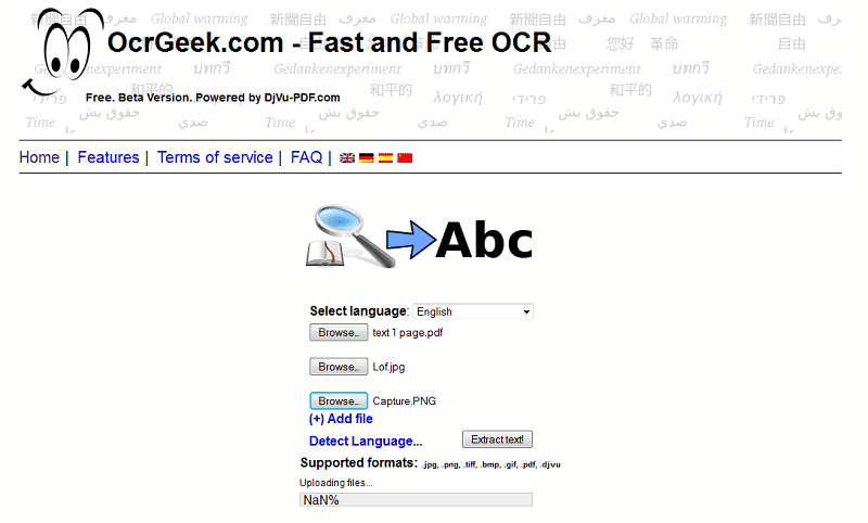 OCRgeek