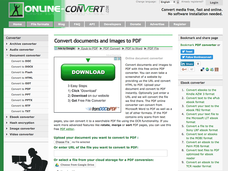 excel to pdf converter free download