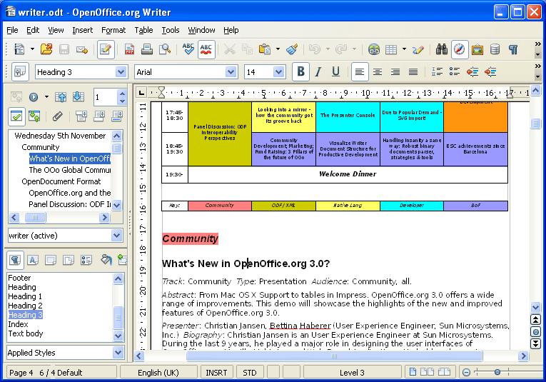 Apache OpenOffice Draw open source pdf editor