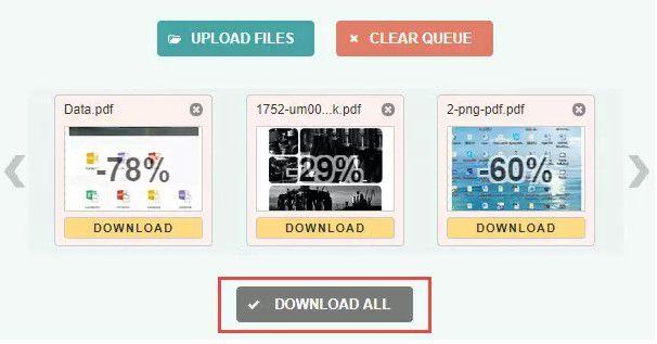 PDF-Dateigrößenkonverter