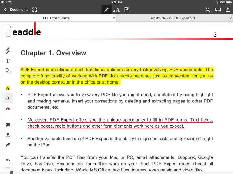 pdf expert 5 rezension