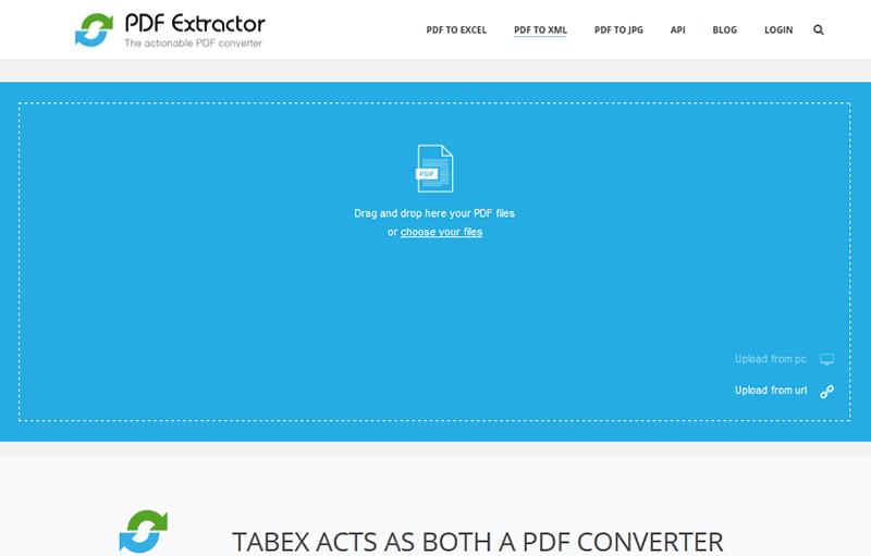pdf to XML Converter Online