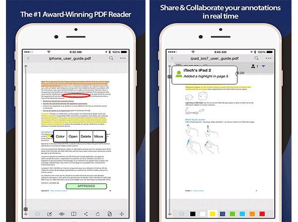 best pdf viewer for iphone