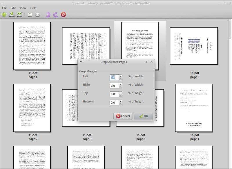 dividir arquivos em pdf