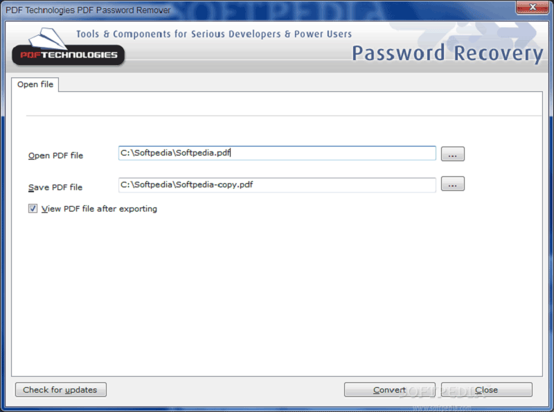 bester PDF Password Remover
