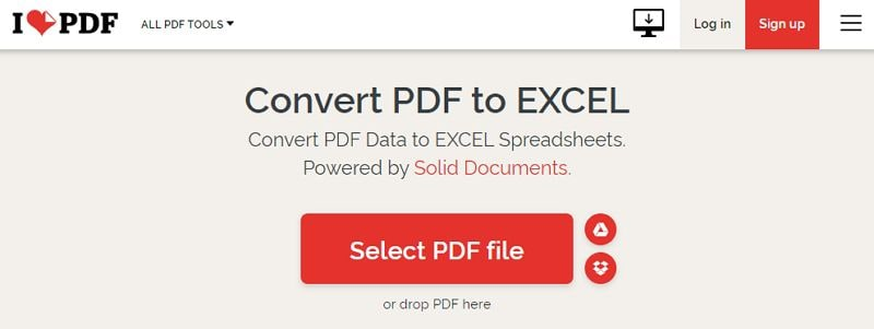 i love pdf in excel