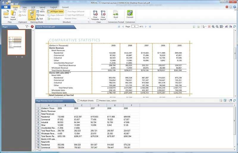 I Migliori Convertitori di PDF in Excel