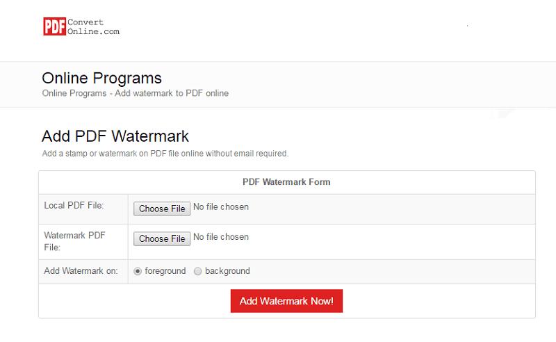 add watermark to pdf free
