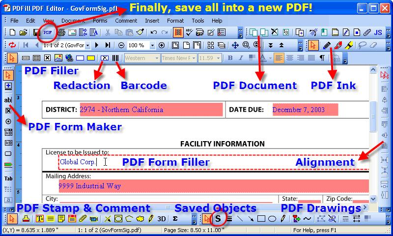 editor pdfill