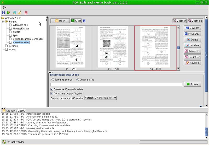 PDFSam open source pdf editor windows
