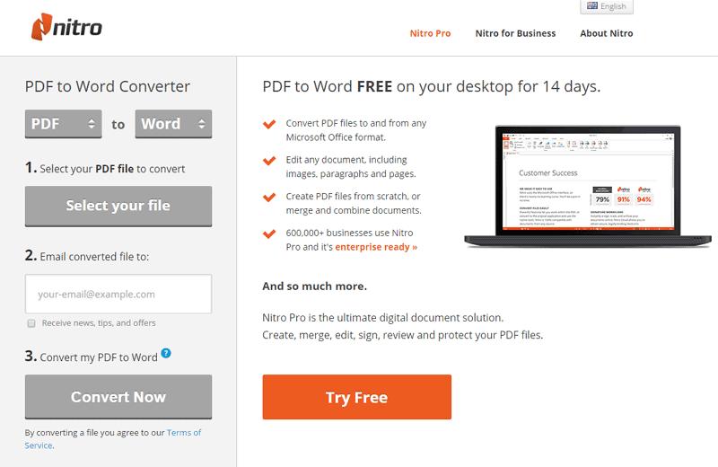 doc a pdf convertidor en línea