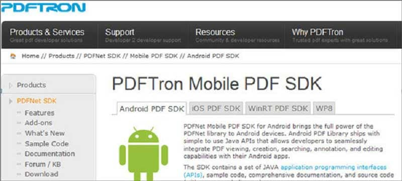 pdftron-mobile-pdf-sdk