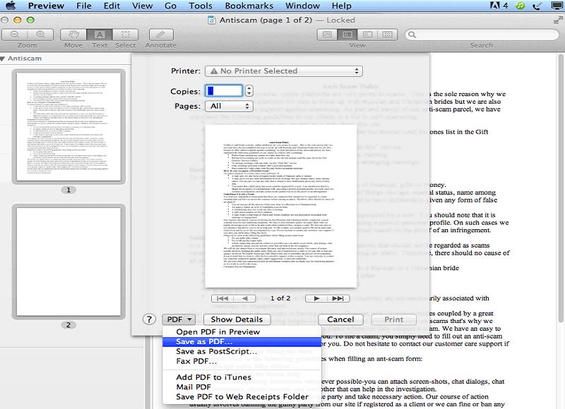 crear un pdf con preview