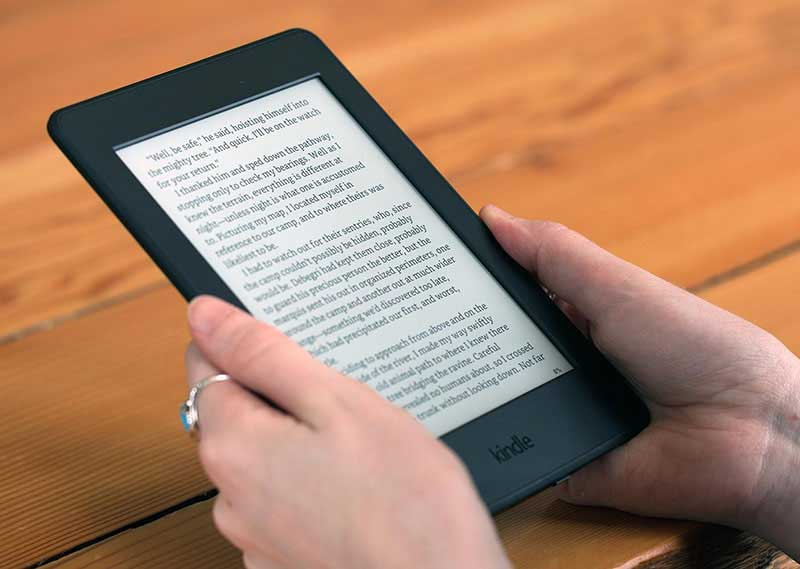 read pdf on kindle