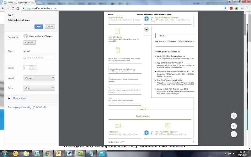 chrome guardar como pdf