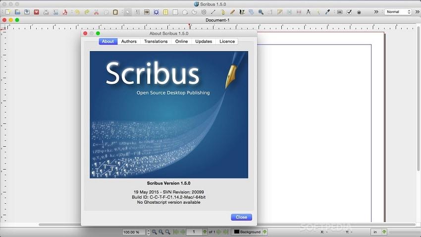 scribus for mac