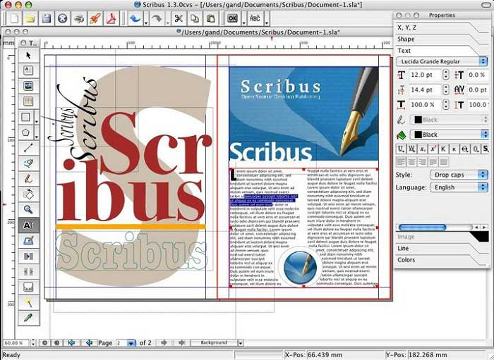 indesign open source alternative
