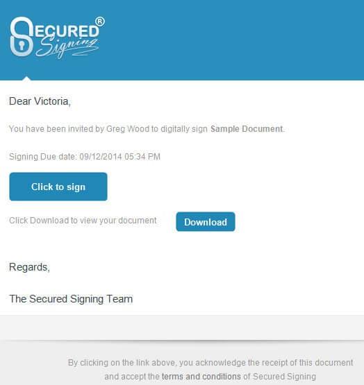 mobile Signatur-App