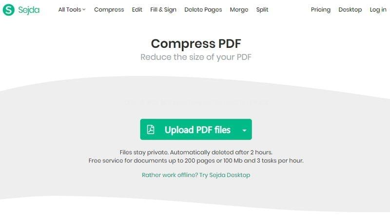 minimize pdf size online