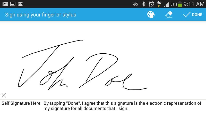 pdf signieren app