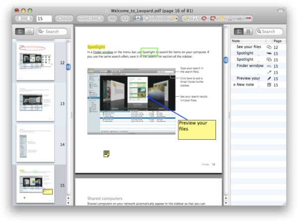 editor di pdf open source per mac