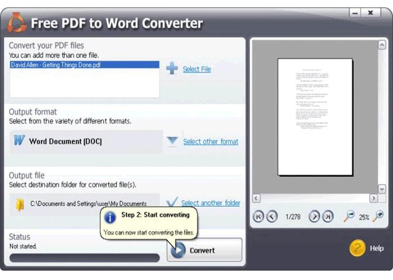 pdf a word open source gratuito