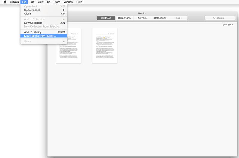 how to save pdf to ibooks