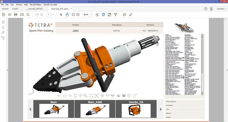 free 3d pdf converter