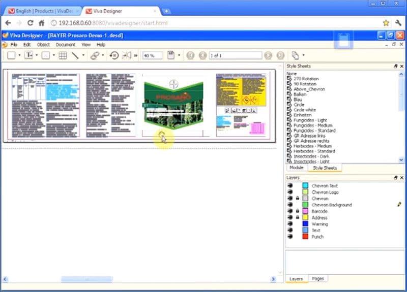 Indesign-Datei online ansehen