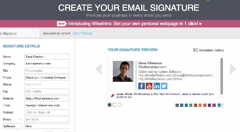 plantilla de firma email para mac