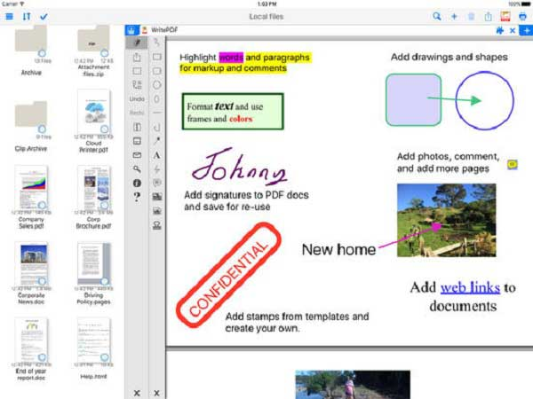 bester pdf editor iphone