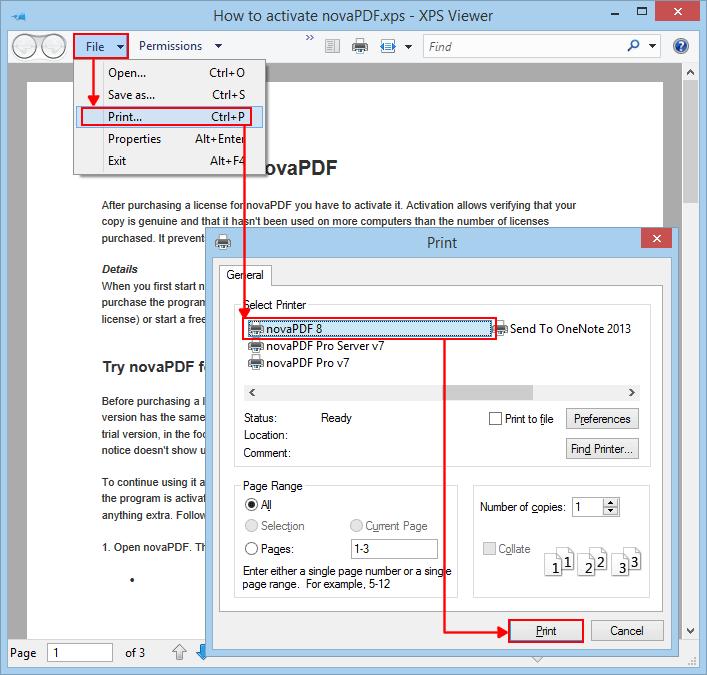 converter xps para pdf