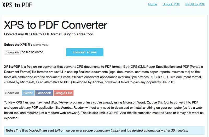 pdf zu xps online