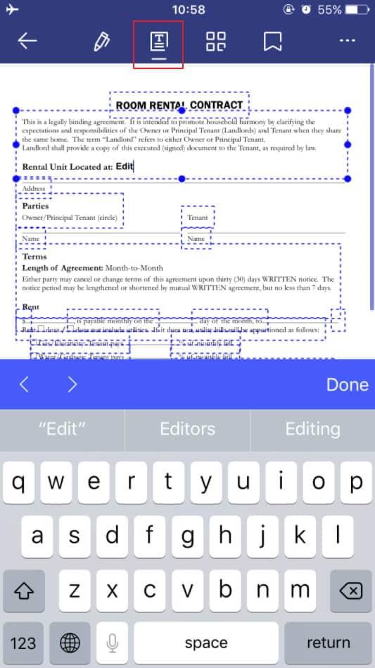 como editar documentos word no iphone