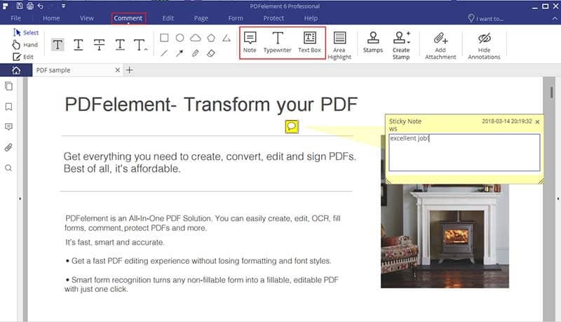 how to make comments in word