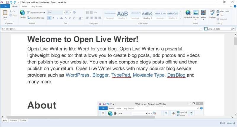 editor online per documenti microsoft word
