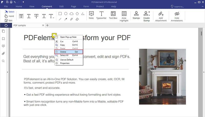 wie man Kommentare von Word Dokument löscht