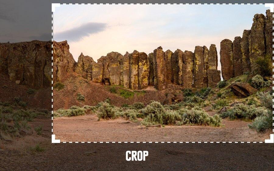 crop image