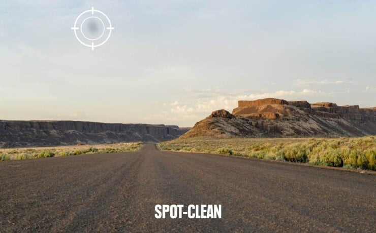 spot cleanup