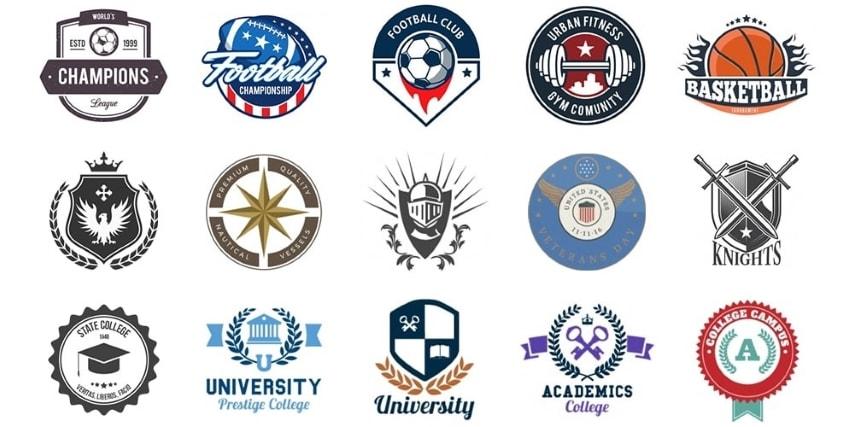 emblem logo types