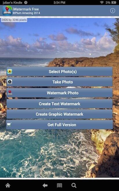 iwatermark interface