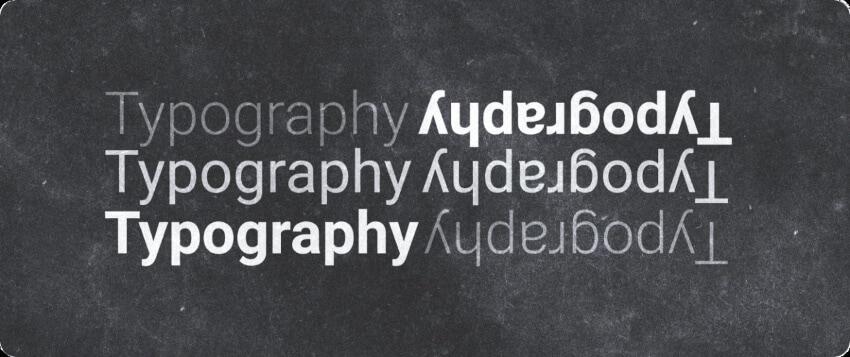 professional typography