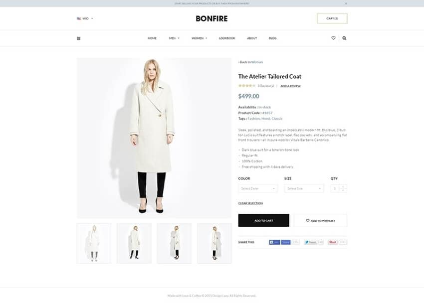 add images in product pages